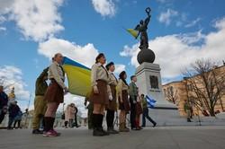 Харківські пластуни склали свою першу присягу/ Фоторепортаж