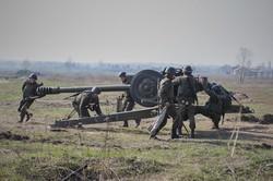 Випускники-нацгвардійці проводять заключні стрільби під Харковом/ Фоторепортаж