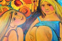 «Радість життя» та весняні настрої: в місті стартувала нова виставка Самойлік