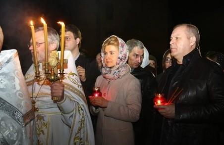 Юлія Світлична привітала віруючих з Великоднем / ФОТО, ВІДЕО