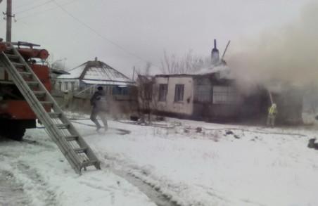 Пожежа під Харковом: у вогні згоріли двоє чоловіків