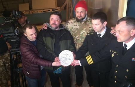 У ВМС України розпочалися зйомки повнометражного художнього фільму «Черкаси» / ФОТО