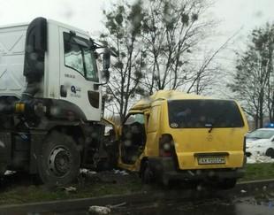 На Ландау - велика аварія