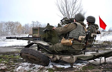 Зенітники відстрілялися під Харковом/ Фото