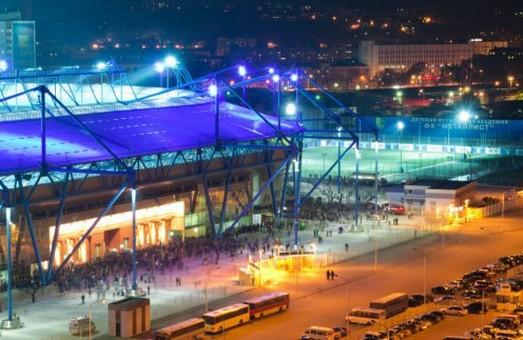 Забороняється рух транспорту біля стадіону «Металіст»