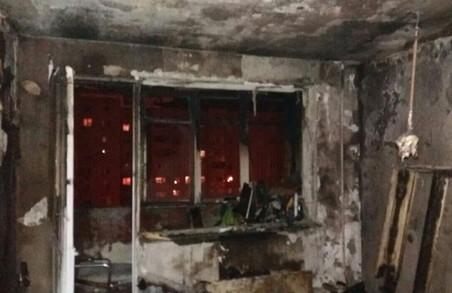 Згоріла квартира на Гагаріна