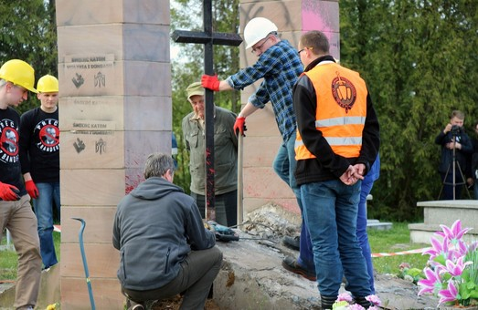 У Польщі демонтовано пам'ятник героям УПА
