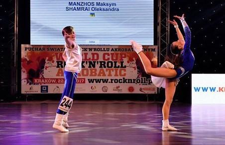 Харків'яни виграли Кубок світу з акробатичного рок-н-ролу