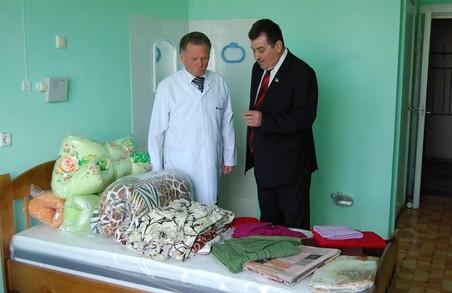 Харківська «Солідарність» передала ліжка лікарні