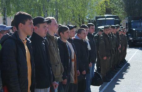 32 призовника строкової служби поповнили 5 Слобожанську бригаду Національної гвардії