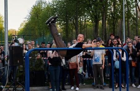 У Харкові офіційно почався літній сезон стріт-воркауту