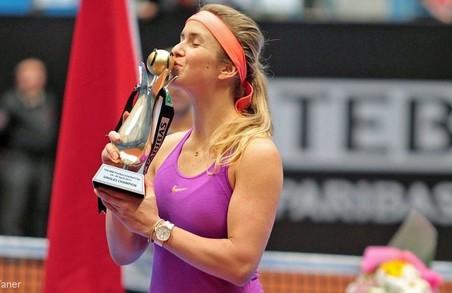 Еліна Світоліна всьоме виграла титул WTA