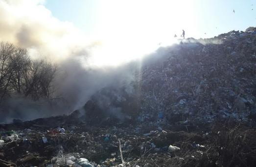 На Рогані велика пожежа/ Фото, Доповнено 17.02