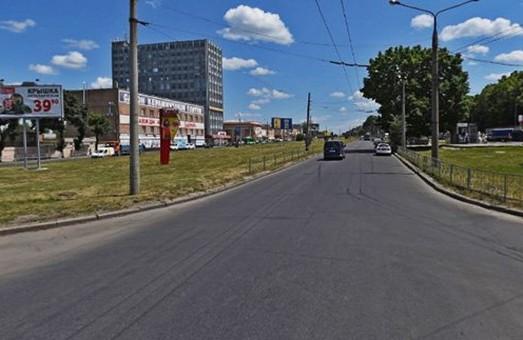 Перекрито рух по частині Московського проспекту