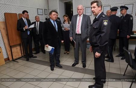 Американська делегація ознайомилась з роботою харківської поліції