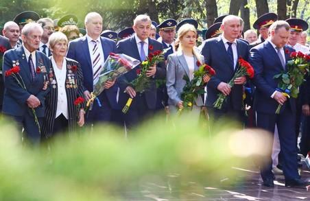 Героїв Великої війни вшанували в Лісопарку/ Відео