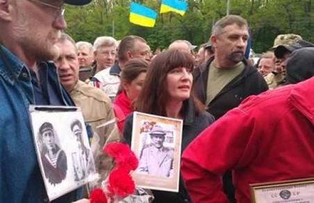 Сутичка на Меморіалі Слави/ Відео. Поліцейський коментар
