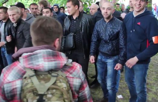 Сутички 9 травня у Дніпрі: звільнено начальника облполіції/ Відео