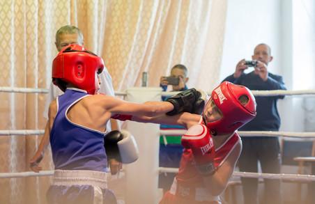 На Люботинському турнірі з боксу 100 спортсменів виступили в 60 поєдинках
