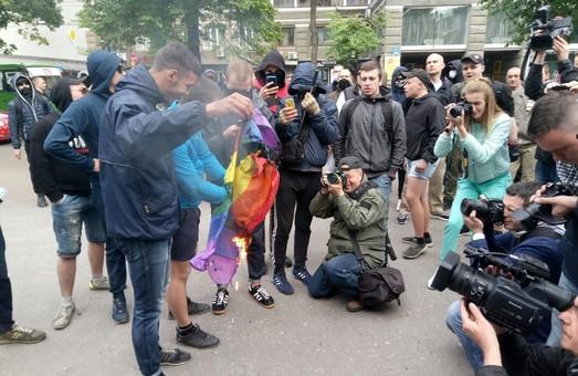 Поліція прокоментувала сутички під час акції ЛГБТ-спільноти