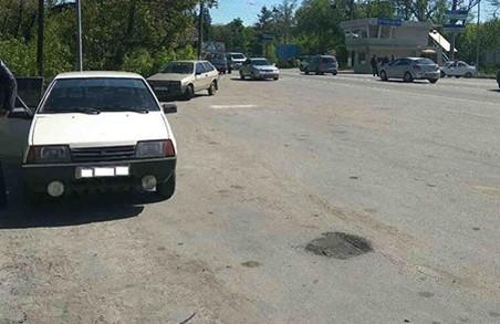 Поліцейські виявили автомобіль з підробленим номером кузова/ Фото