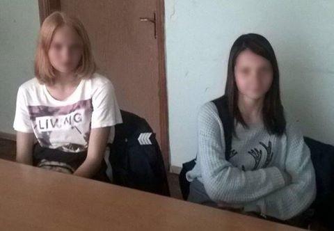 Неповнолітніх втікачок з Харкова спіймали у Києві
