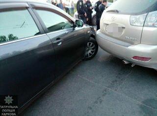 """Водій Lexus Rx350 """"програв"""" гонитву поліцейським"""