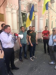 У Харкові пройшов мітинг проти корупції на державних підприємствах