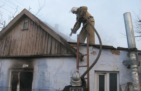 У дачному кооперативі «Казка» згоріла дача