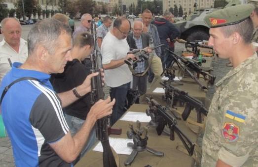 Харків'янам пропонують військову службу за контрактом