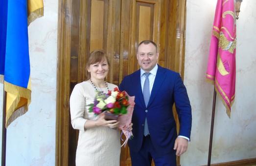У Харкові привітали матерів, яким присвоєно звання «Мати-героїня»