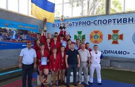 Юні самбісти Харківщини перемогли на чемпіонаті України
