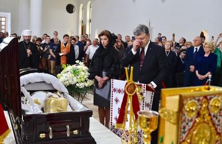 Сьогодні поховають Блаженнішого Любомира в крипті Патріаршого собору