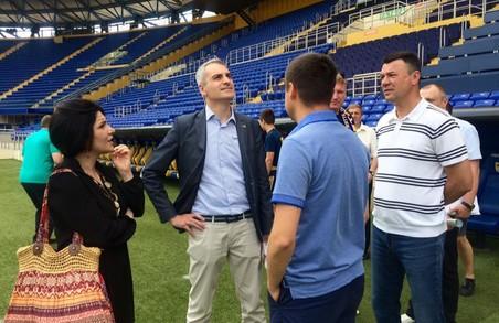 Серйозні італійці будуть спонсорувати харківський футбольний клуб/ Фото