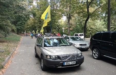 Поліція не пов'язує масові обшуки у Харкові з візитом президентів/ Відео