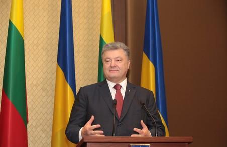 Порошенко готовий підписати закон про відновлення курсу України на членство в НАТО