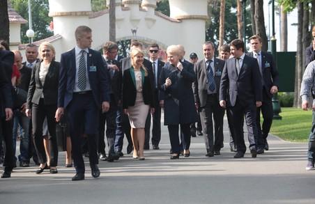 Світлична з Грібаускайтє відкрили Дні Литви на Харківщині