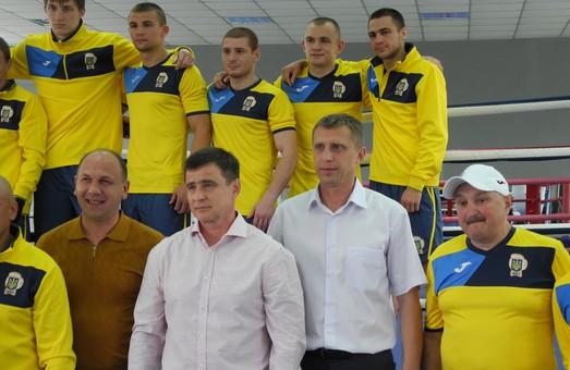 Збірна команда України з боксу провела відкрите тренування