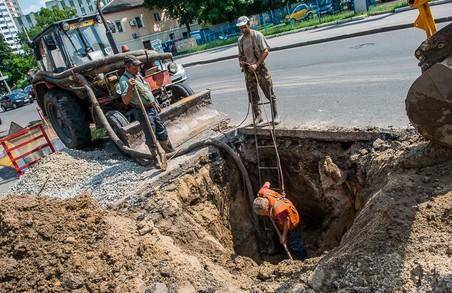 Припинено водопостачання в частині будинків Харкова