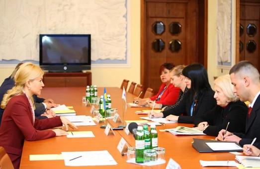 Світлична обговорила гендерні питання з представниками ОБСЕ