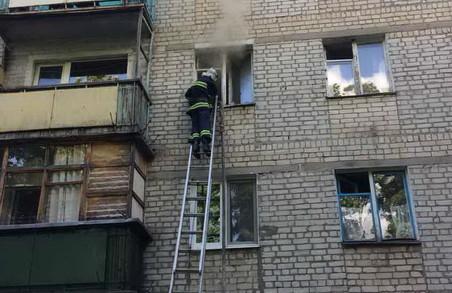 Телевізор намагався спалити квартиру/ Фото