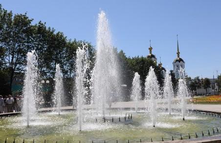 Харківські фонтани захистили від вандалів камерами відеоспостереження