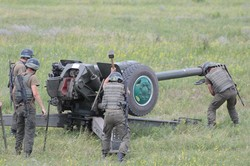 В Клугіно-Башкирівці проведені польові заняття з командирами Національної гвардії