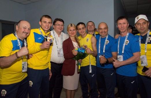 Світлична подякувала тренерам і спортсменам збірної України з боксу за перемогу на чемпіонаті Європи/ Фото