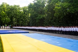 300 випускників Національної академії Нацгвардії України отримали дипломи офіцерів у Харкові / Фоторепортаж