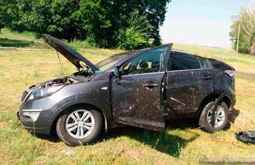 На Харківщині перекинулася автівка. Селянин загинув на на місці