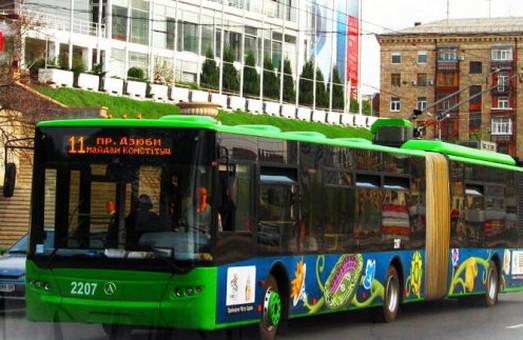 Змінено маршрути тролейбусів на Новій Баварії