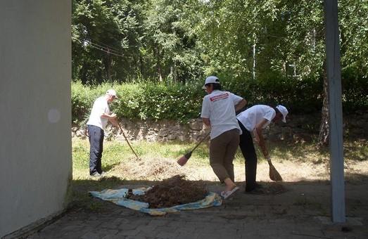 Харківська «Солідарність» провела толоку у таборі «Берізка» / Фото