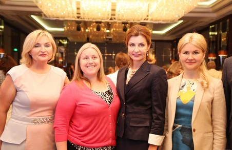 Якщо ми дамо жінкам додаткові можливості реалізуватися, ми відчуємо позитивні зміни - Марина Порошенко