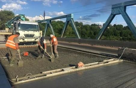 Відновлено рух по мосту в Балаклійському районі